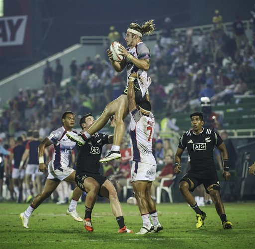US upsets New Zealand to make Dubai 7s rugby quarterfinals