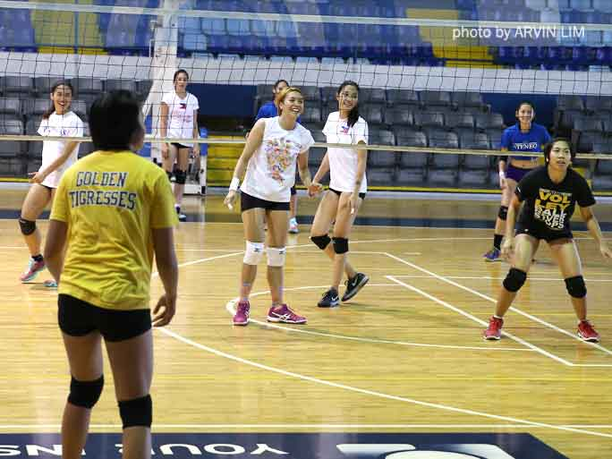 SEA Games Women's National Volleyball Team Practice | ABS ...