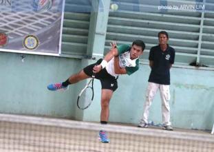 UAAP 77 Men's Tennis: DLSU vs UP