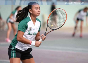 Check out photos from UAAP 77 Men's Tennis Action between DL