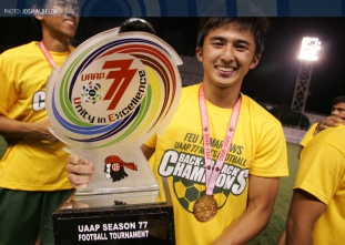 UAAP 77 Men's Football Finals: DLSU vs FEU