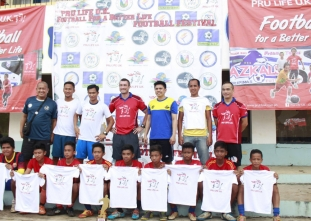 FC Juan Sanz tops Football for a Better Life Naga tourney