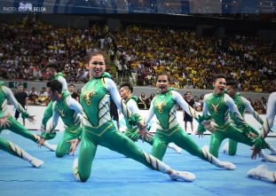 #UAAPCDC2015: FEU Cheering Squad
