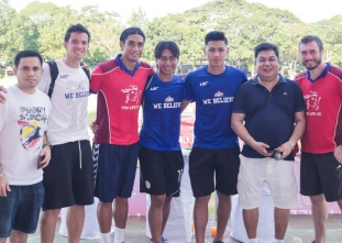 Azkals lend a hand at the Football for a Better Life 2015