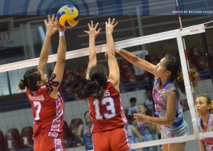 NCAA 91 Women's Volleyball: EAC vs. AU