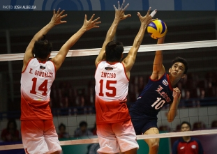 NCAA Season 91 Men's Volleyball: CSJL vs.  SBC