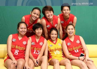 NCAA 91 Women's Volleyball: SSC Lady Stags studio shoot