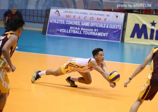 NCAA 91 Juniors Volleyball: Perpetual vs. EAC