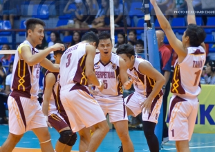 NCAA 91 Volleyball Final Four: Perpetual vs. CSB