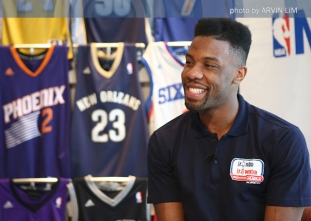 Two-time NBA Champ Norris Cole in Manila