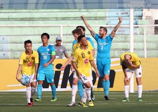 Kaya FC falls to Kitchee again in Rizal heartbreaker