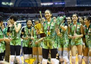 UAAP Women's Volleyball Finals Awarding