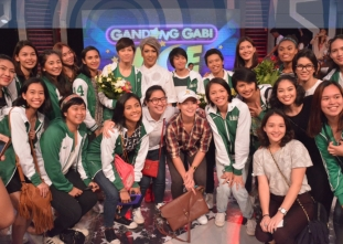 DLSU Lady Spikers on Gandang Gabi Vice!