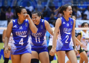 Pocari Sweat secures at least a semis spot playoff
