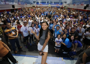 Alyssa Valdez Grand Fans Day