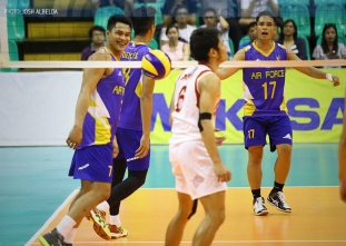 Air Force bombs Cignal, claims series opener