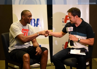 NBA Fit: Dee Brown and Brandon Knight in Manila