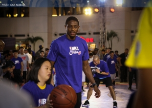 NBA Cares Basketball Clinic
