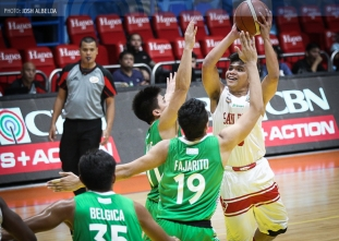 San Beda bounces back by frustrating luckless CSB