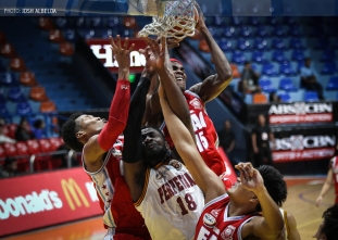 Dagangon shoots Perpetual to sixth straight win