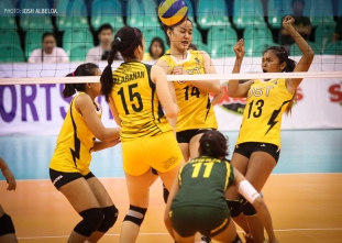 FEU tramples UST in straight sets, wins third straight