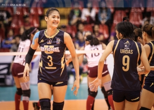 Santiago powers NU past UP in four sets