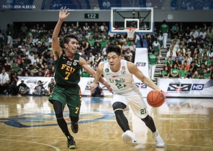 Teng lands knockout blow after DLSU takes FEU's best shot