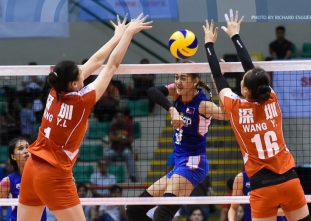 China downs Foton Pilipinas, secures a semis spot