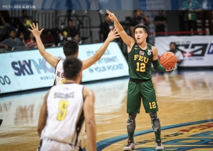 FEU bests UST again, barges into three-way tie for second
