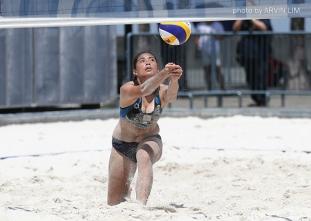 UAAP 79 Women's Beach Volleyball: NU def UE