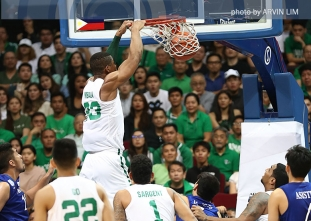 DLSU bullies Ateneo by 16 points to sweep first round