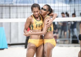 UAAP 79 Women's Beach Volleyball: FEU vs DLSU