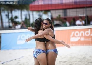UAAP 79 Women's Beach Volleyball: Ateneo vs DLSU