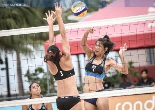 UAAP 79 Women's Beach Volleyball: NU vs UP (Oct. 7)