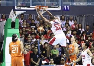 Ginebra holds on in Game 2 to tie Meralco series at 1