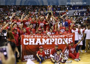 PBA Finals: Post-game celebrations and Awarding