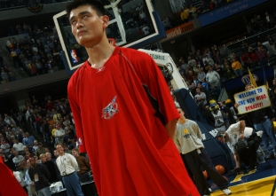 ON THIS DAY: Yao Ming's NBA debut