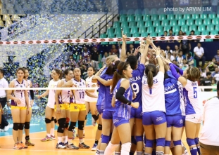 Pocari Sweat celebrates VLeague Reinforced Conference title