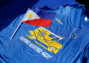 Golden State Warriors Filipino Heritage Night - 11/14/16