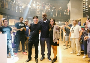 Payton attends NBA Cares event and NBA Store Cebu opening