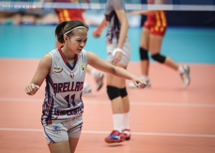 NCAA 92 Women's Volleyball: Arellano defeats Mapua