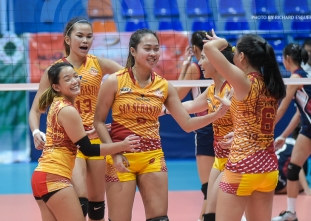 NCAA 92 Women's Volleyball: San Sebastian defeats Letran