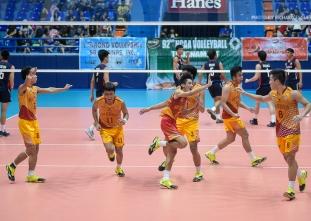 NCAA 92 Men's Volleyball: San Sebastian defeats Letran