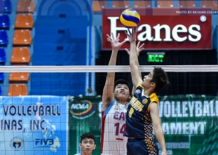 NCAA 92: Men's Volleyball: JRU defeats EAC