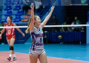 NCAA 92 Women's Volleyball: Arellano defeats Letran
