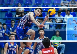 NCAA 92 Men's Volleyball: Arellano defeats Letran