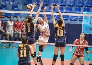 NCAA 92 Women's Volleyball: San Beda defeats JRU
