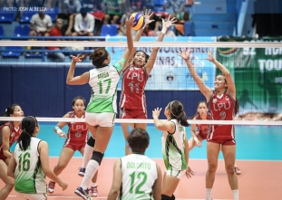 NCAA 92 Women's Volleyball: LPU defeats Benilde