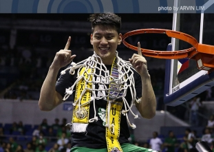 UAAP 79 Men's Basketball Finals Post-Game Celebration