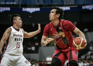 Beermen crush Elite to book QF berth in the Philippine Cup